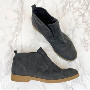 Indigo Rd. Gray Ankle Booties